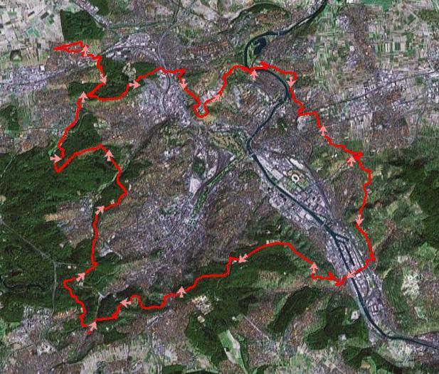 Satelliten Ansicht