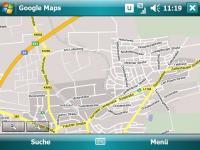 GoogleMaps Kartenansicht