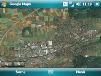 GoogleMaps Satellitenansicht
