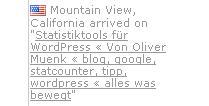 Besuch aus Mountain View