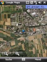 Google Maps auf dem Kaiser