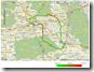Radtour 2009 in uTrack ausgewertet