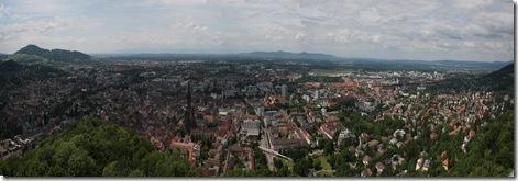 Freiburg Panorama - Canon EOS 450D