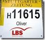 Stuttgarter-Zeitung-Lauf Startnummer