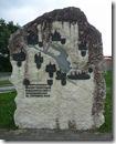 Gedenkstein zur Eröffnung des Freizeitzentrums in Gunzenhausen 1987