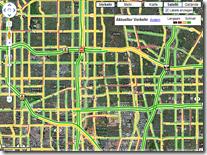 Google Maps - Verkehr - Los Angeles