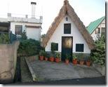 Hütten mit Strohdächern in Santana