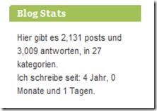 Statistik 4 Jahre alleswasbewegt.de