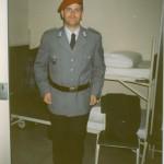 Ich bei der Bundeswehr