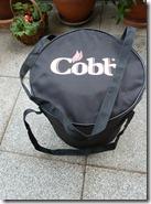 Der Cobb-Grill wieder verpackt