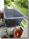 90l Wasserbehälter mit Absperrhahn
